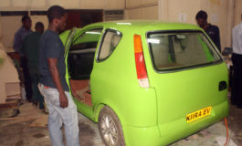 Student project sees birth of a 'Made in Uganda' vehicle