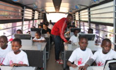 Mobile school trains slum youths on ICT skills